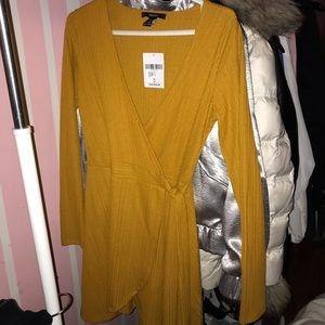 WRAP SULPICE DRESS
